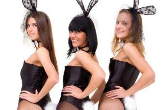 Costume coniglietta di Playboy