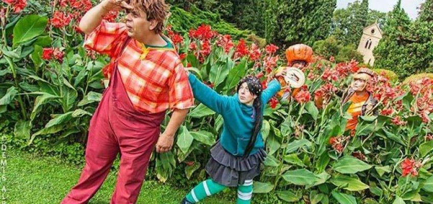Festa cosplay al Parco Sigurtà