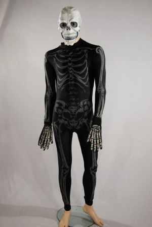 Costume horror scheletro