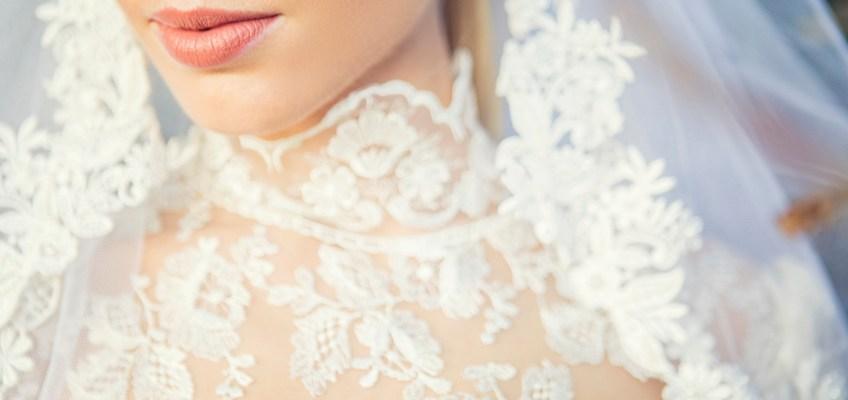 L'abito da sposa bianco