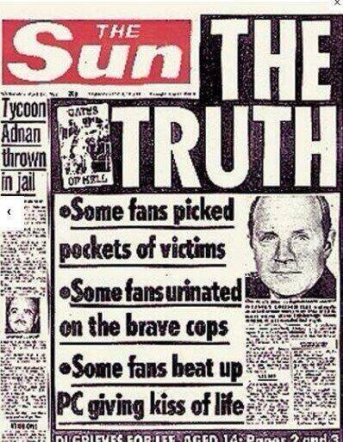 """The Truth"" lying about Hillsborough"