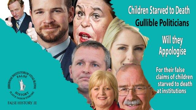 Ireland's gullible politicians falling for lies