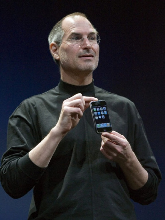 Jobs with new iPhone