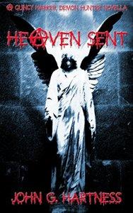 Heaven Sent Cover (A Quincy Harker Demon Hunter Novella)