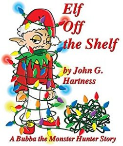 Cover Art for Elf Off the Shelf