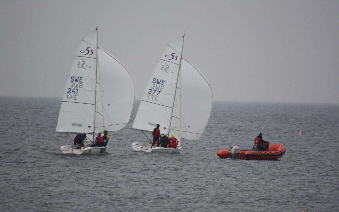 Seglingssäsongen började lördagen 24/3 i Skanör