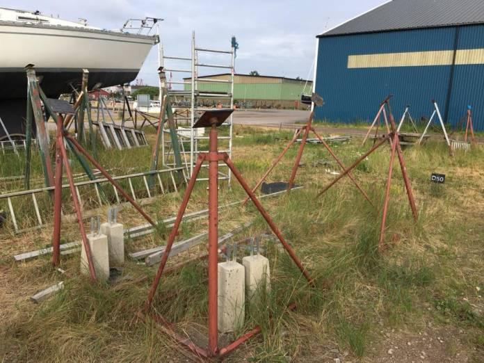 Information om Båtuppställningsplan NÖ sidan sommaren 2019