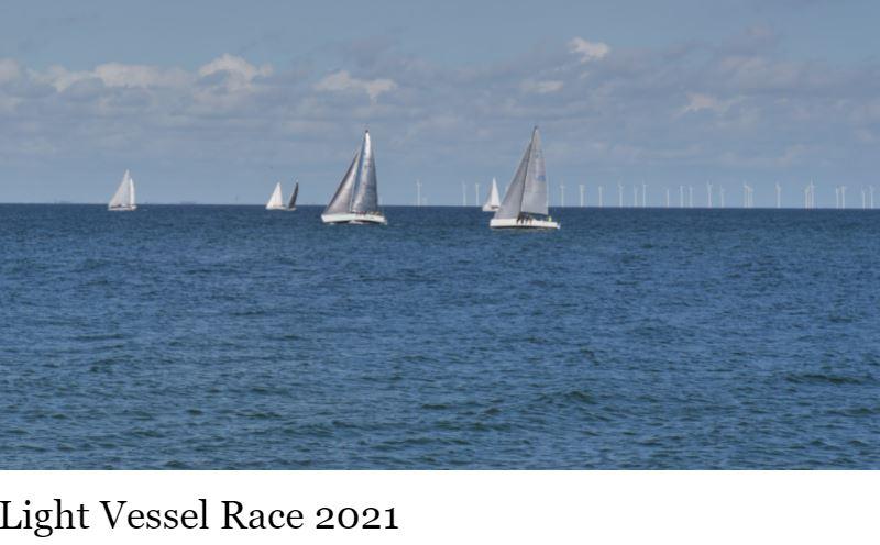 Light Vessel Race på gång i Skanör 11/9
