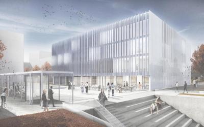 Wettbewerb Neubau Business Development Center