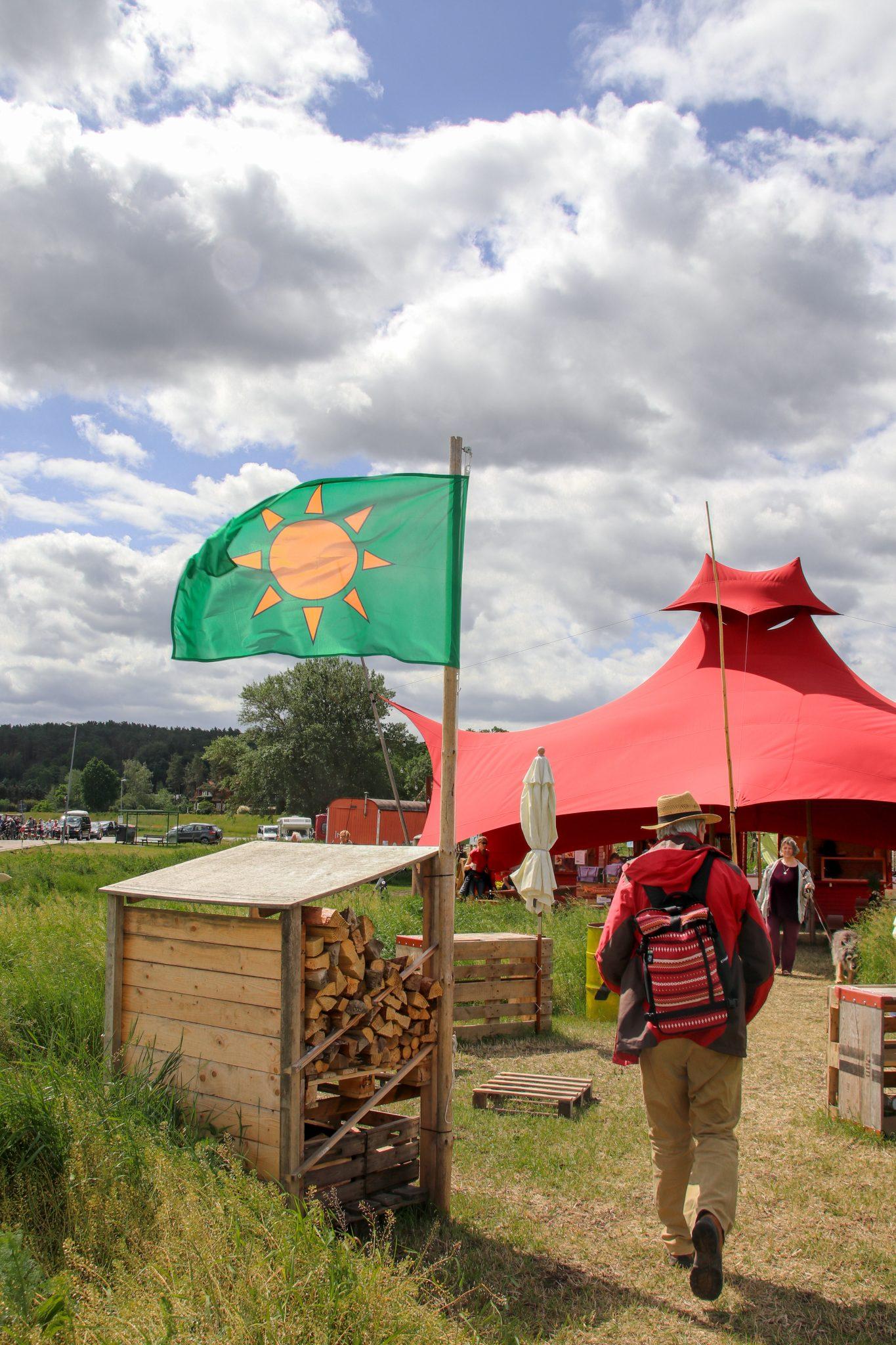 KLP- Neu-Darchau-Wendland-Fahne