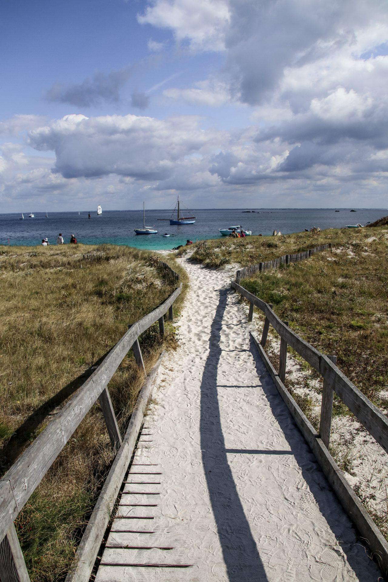 Glénan-Inseln-weg