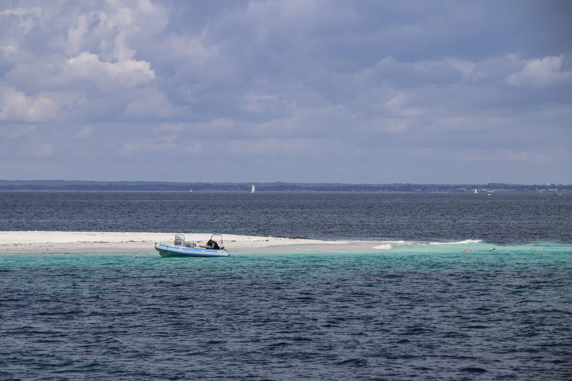 Glénan-Inseln-weißer-strand