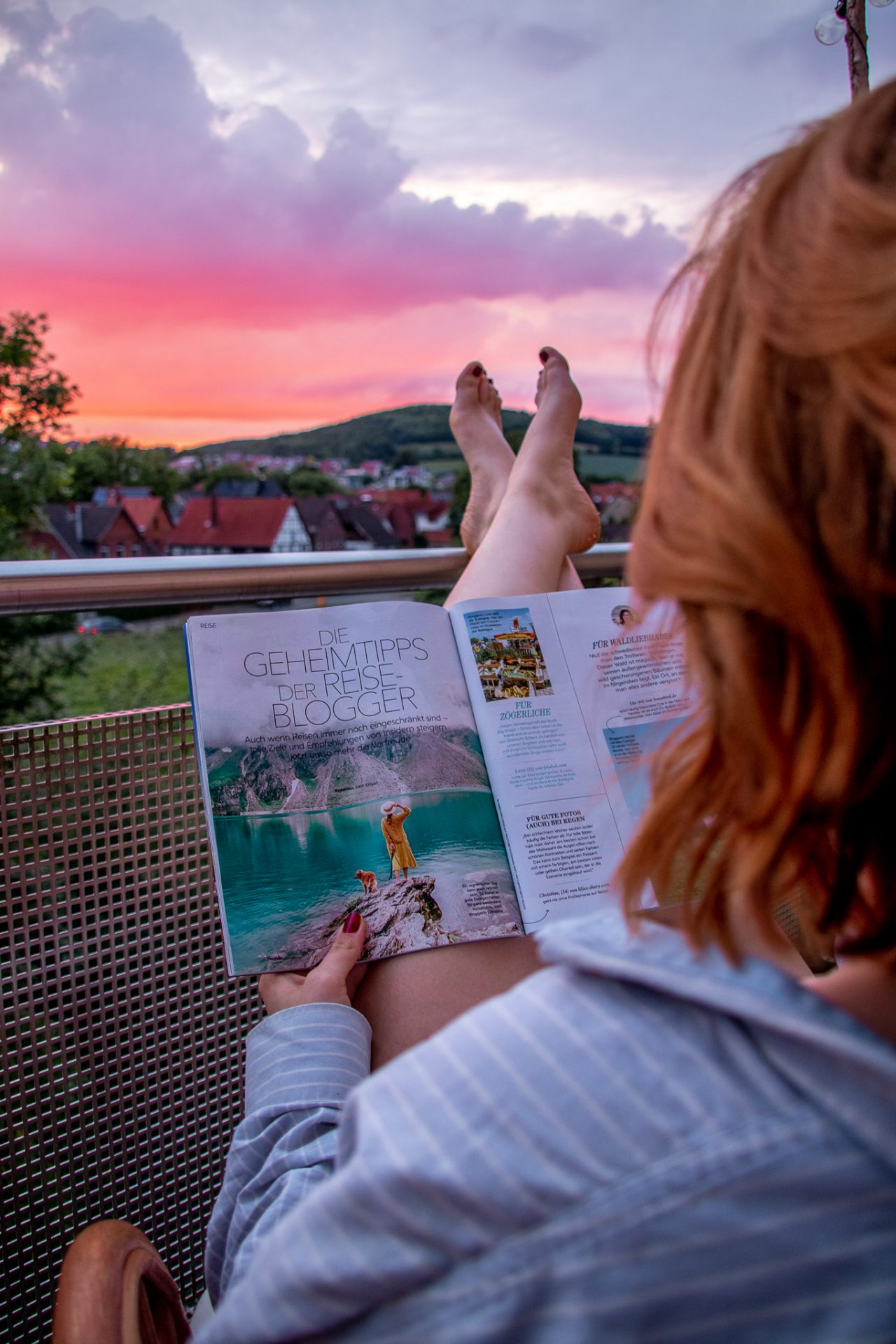 Freundin-Reiseblogger-Artikel