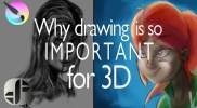 Why Drawing is so Important for 3D artist!