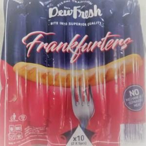 DewFresh Frankfurters x 10