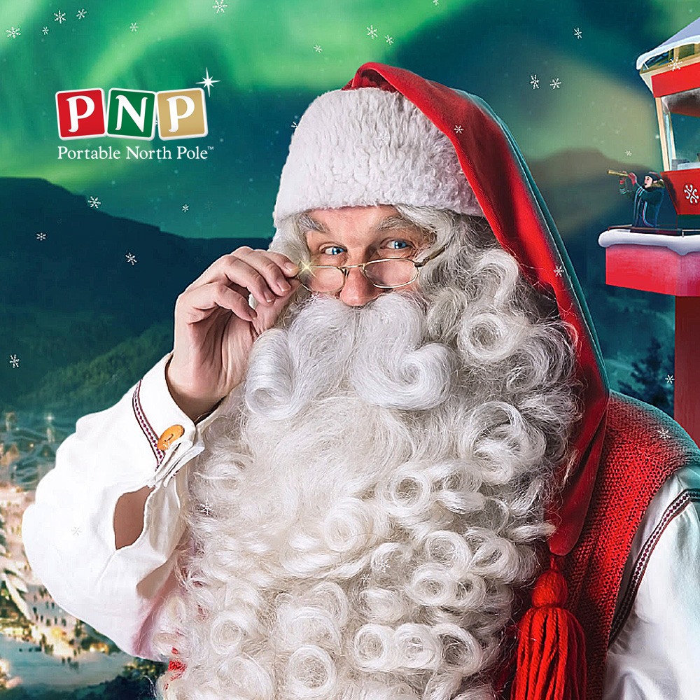 Portable North Pole Is A Magical Gateway To Santa  FamadilloCom