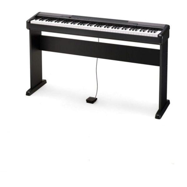 Piano Digital Casio CDP130 c Pedal e Suporte Base CS44PC2 5