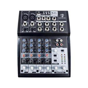 Mesa de Som Hayonik 08 Canais HMX 108 USB