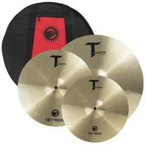 Kit de Pratos 14´ 16´ 20´ Octagon TM01 c Bag Tasmann