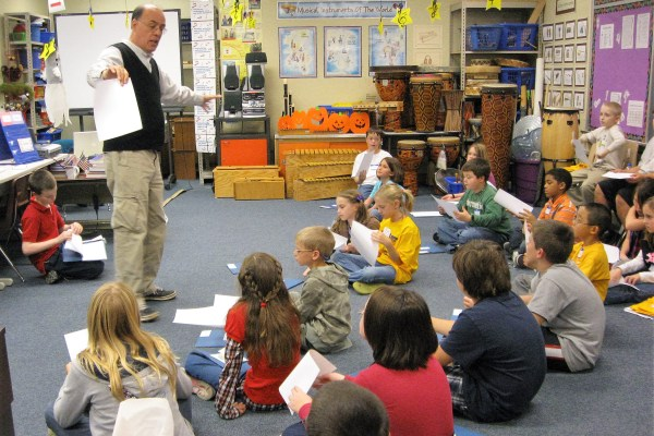 David Crowe Teaches Students About Music Composition