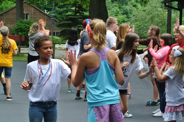 FAME Campers Learn To Square Dance