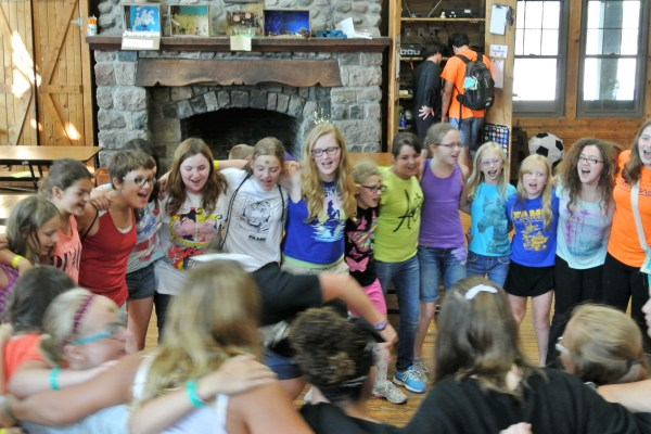 FAME Campers Sing At Lunch