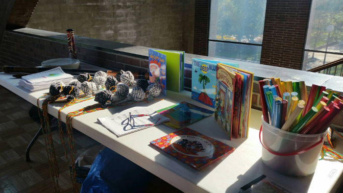 Oceania Resources On Display At Teacher's Meeting