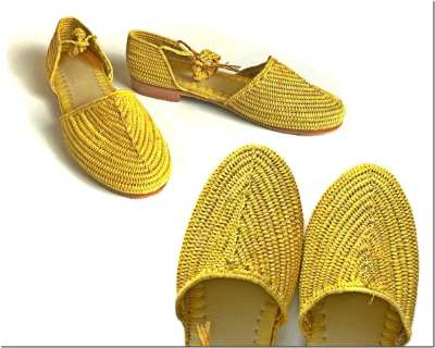 Fashionista NOW: Raffia Sandals For Strong Summer Shoe Game