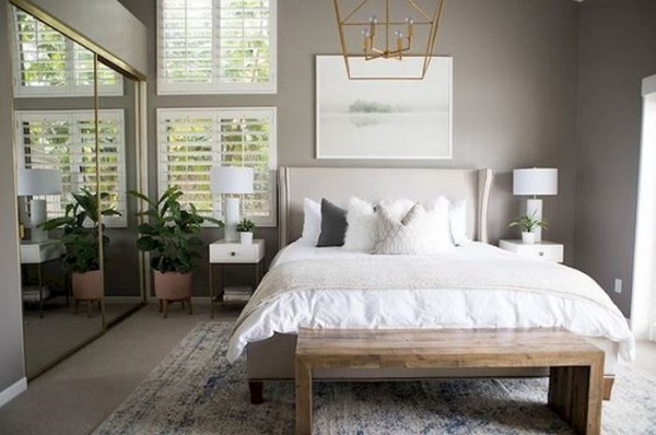 Neutral Bedroom Ideas: 20+ Chic Decor with a Pop of Color ... on Neutral Minimalist Bedroom Ideas  id=30326
