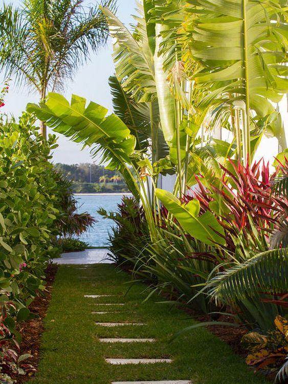 Tropical Backyard Ideas: 20+ Beautifully Refreshing Decors ... on Tropical Backyards  id=66326