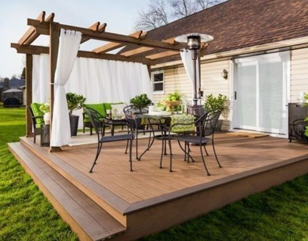 Backyard Deck Ideas: 28+ DIY Designs for Affordable Home ... on Patio With Deck Ideas id=87828
