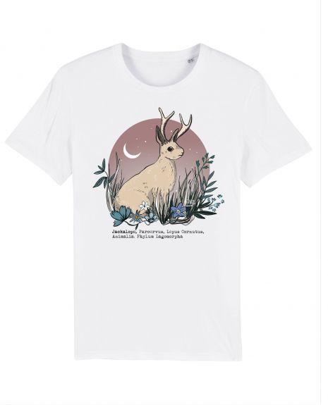 JACKALOPE Unisex T-Shirt – White