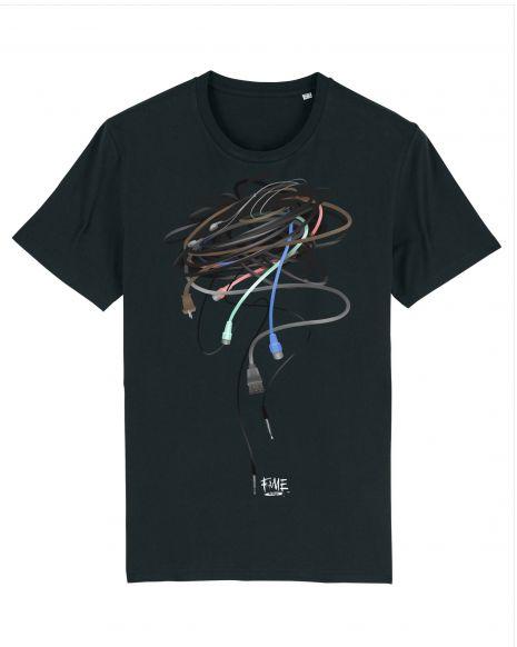 WIRED Unisex T-Shirt – Black