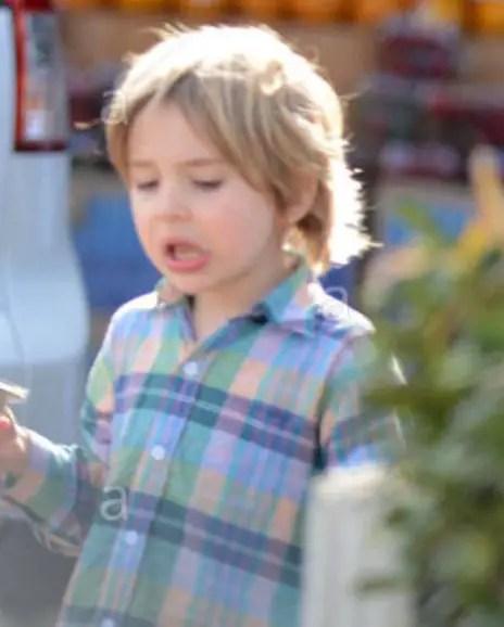 Sarah Chalke's son Charlie Rhodes Afifi