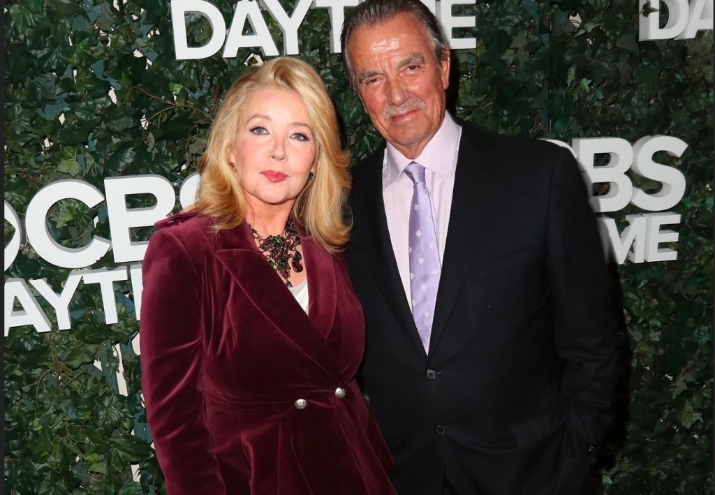 Eric Braeden and wife Dale Russell