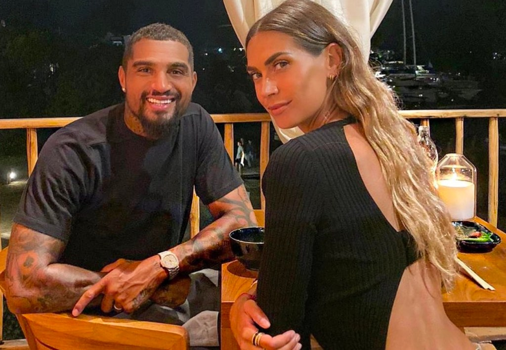 Melissa Satta and Kevin-Prince Boateng