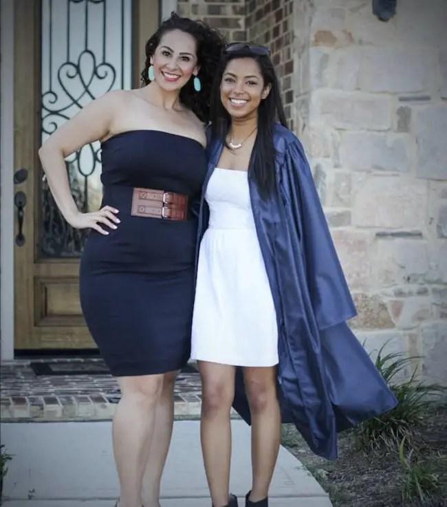 Bri Springs with mother Lauren Stoppelbein