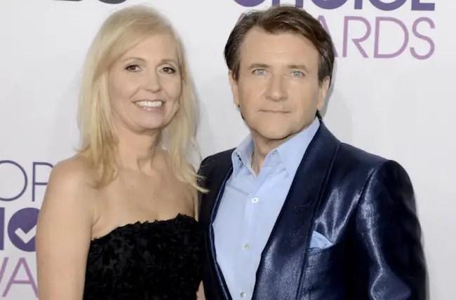 Diance Plese with ex-husband Robert Herjavec