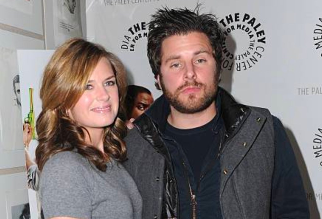 James Roday and former girlfriend Maggie Lawson