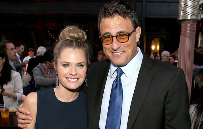 Maggie Lawson and ex-husband Ben Koldyke