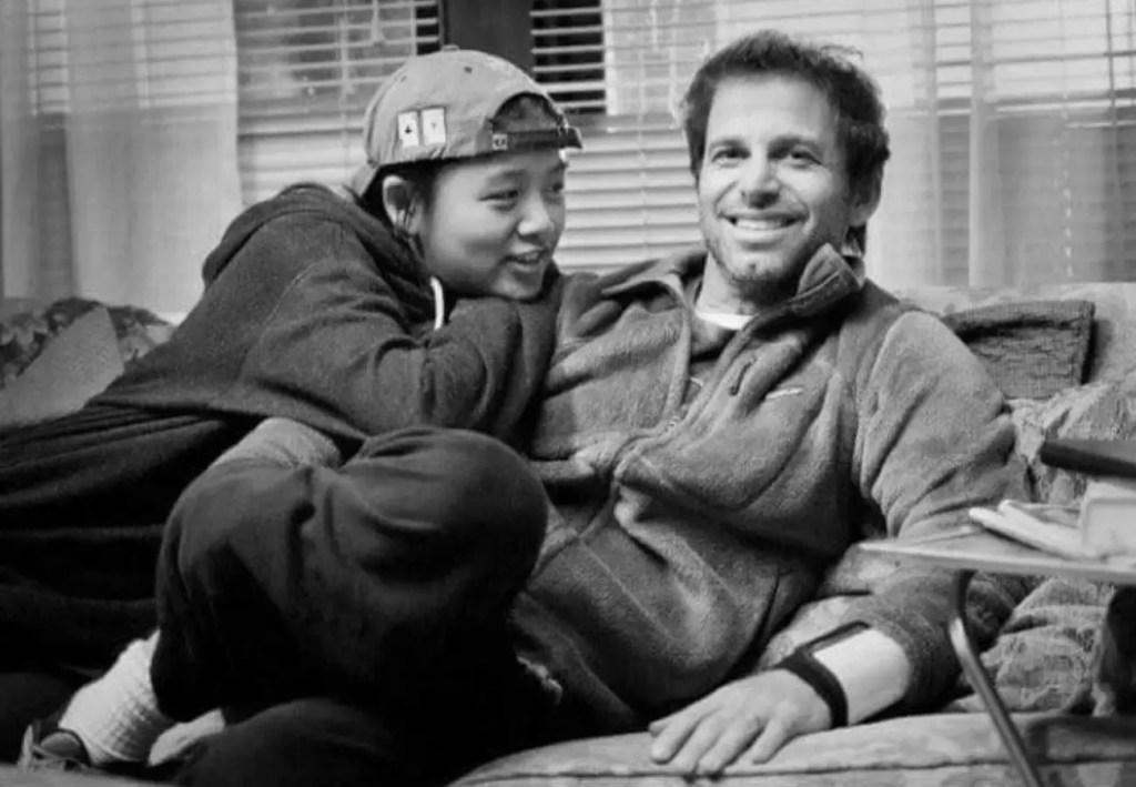 Autumn Snyder and Zack Snyder