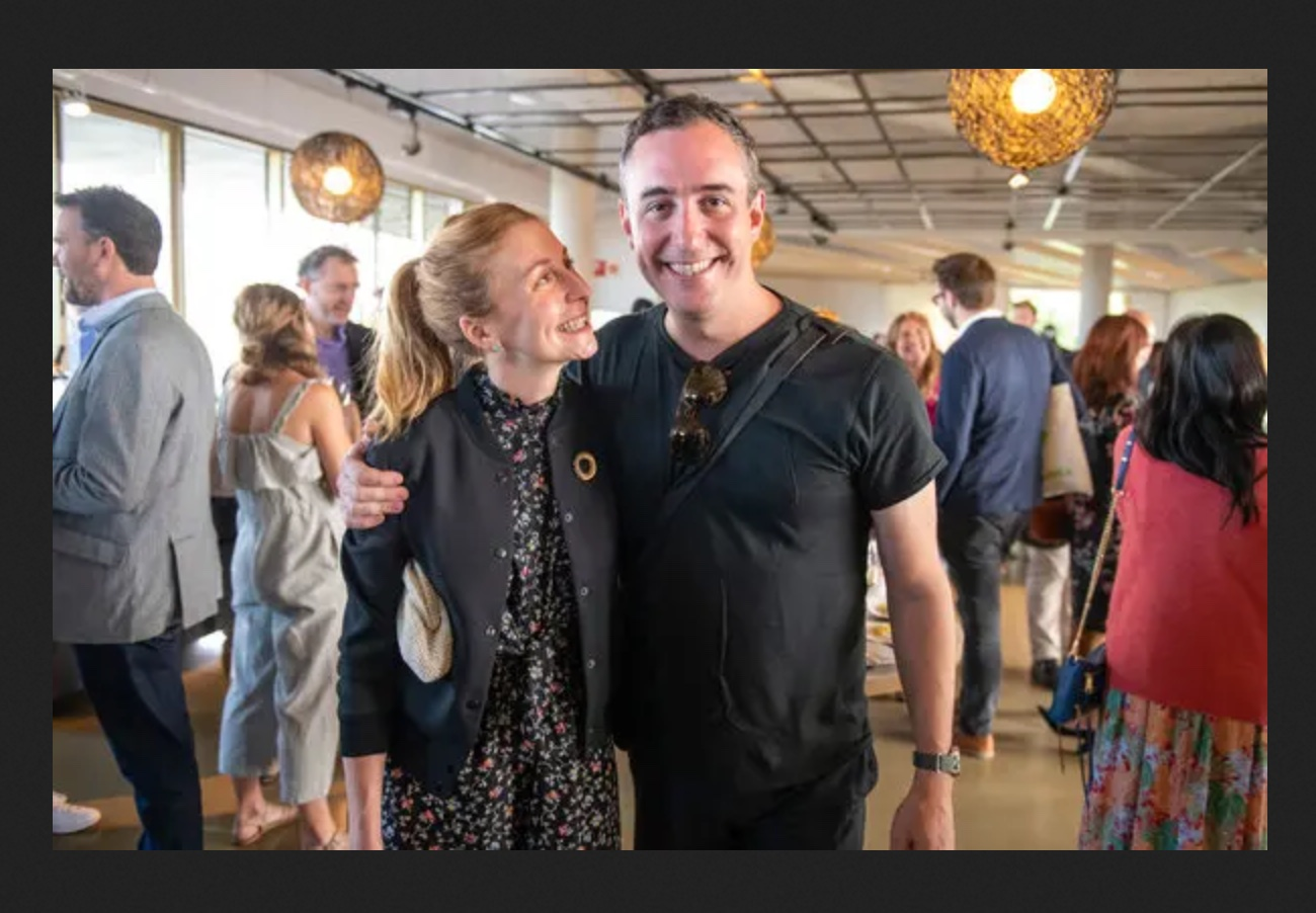 Christina Tosi and husband Will Guidara