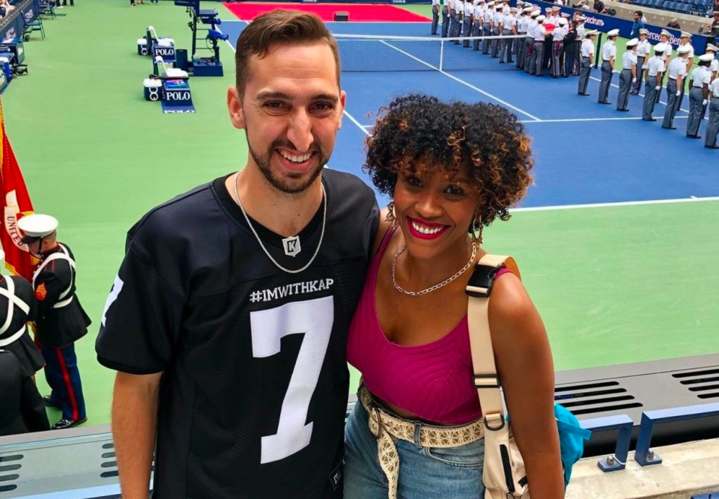 Danielle Wright and husband Nick Wright