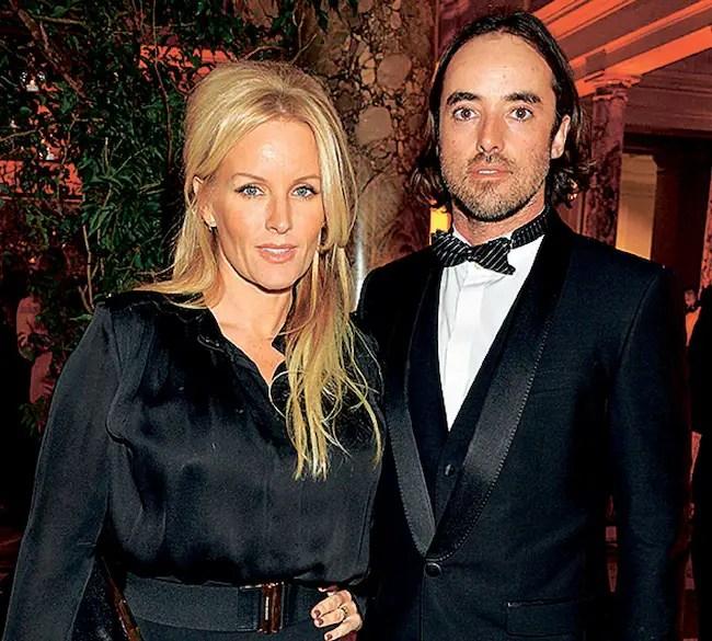 Davinia Taylor with boyfriend Matthew Leyden