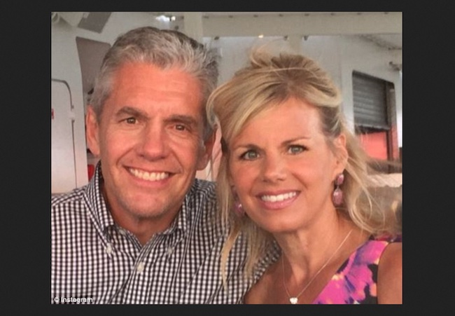 Gretchen Carlson with husband Casey Close