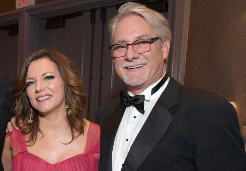 John McBride and wife Martina McBride