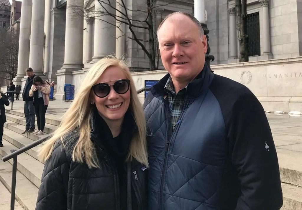 Leanne Morgan with husband Chuck Morgan