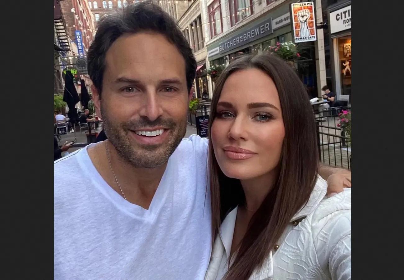 Meredith Marks with husband Seth Marks