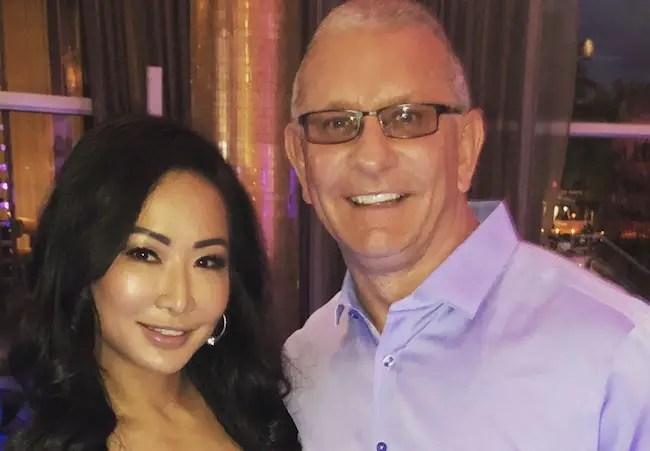 Robert Irvine and his wife Gail Kim