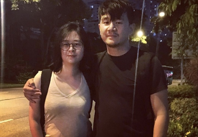 Ronny Chieng with his sister